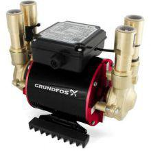 Grundfos Amazon Pump Twin Brass Shower Pump