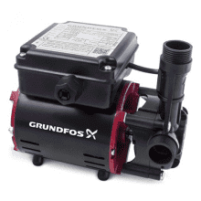 Grundfos STR-2.0C Single Impeller Shower Pump