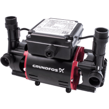 Grundfos STR2-1.5C Twin Impeller Regenerative Shower Pump