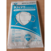 GWDUK KN95 Single Face Mask
