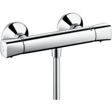 Hansgrohe Ecostat Thermostatic Shower Mixer Universal for Exposed Installation