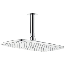 Hansgrohe Raindance E360 Air 1Jet Overhead Shower With 100mm Ceiling Connector