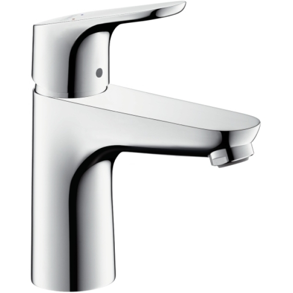 Hansgrohe Single Lever Basin Mixer 100 without Waste