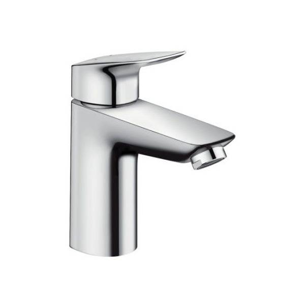 Hansgrohe Single Lever Basin Mixer 100 without Waste, Low Pressure Min. 0.2 Bar