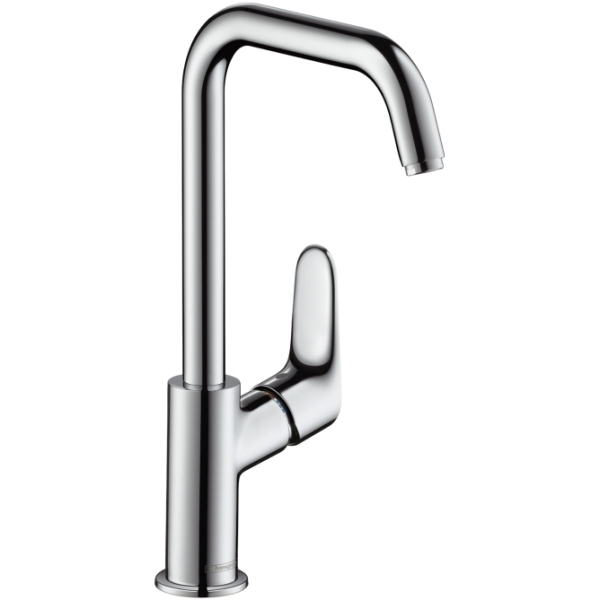 Hansgrohe Single Lever Basin Mixer 240 with Swivel Spout without Waste