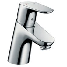 Hansgrohe Single Lever Basin Mixer 70 without Waste, Low Pressure Min 0.2 Bar