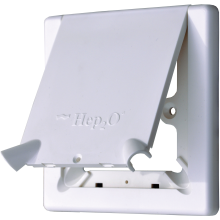 Hep20 Radiator Outlet Cover White