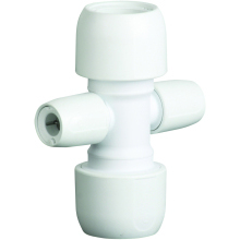 HEP2O 2 Port 22mm Manifold Socket to Socket White