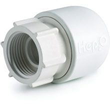"Hep2O Hand-TitanTM Tap Connector 0.75""x22mm White"