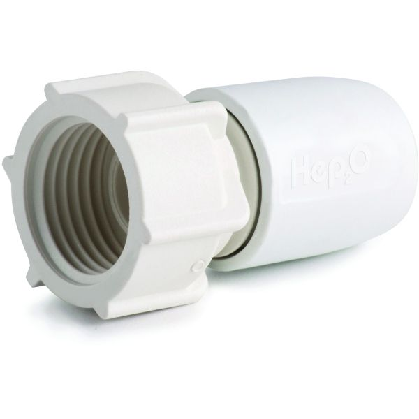 "Hep2O Hand-TitanTM Tap Connector 0.5""x10mm White"