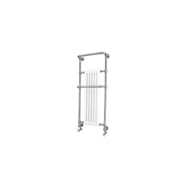 Heritage Cabot Wall Hung Heated Towel Rail Chrome