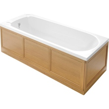 Heritage Caversham 1700mm Front Bath Panel Oak