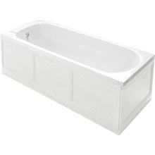 Heritage Caversham 1800mm Front Bath Panel White Ash