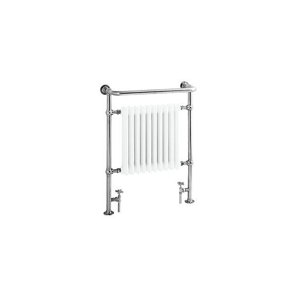 Heritage Clifton Heated Towel Rail Chrome