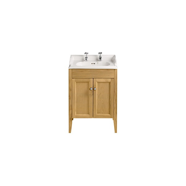 Heritage Dorchester 2 Tap Hole Square Furniture Basin