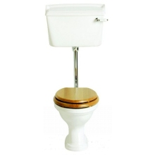 Heritage Dorchester Low/High Level WC Pan