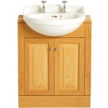 Heritage Dorchester Medium Semi-Recessed Basin