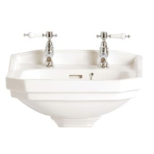 Heritage Granley 2 Tap Hole Cloakroom Basin