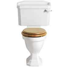 Heritage Granley Close Coupled Comfort Height WC Pan