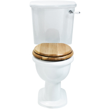 Heritage Victoria Close Coupled Comfort Height WC Pan