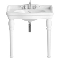 Heritage Victoria Single Bowl Console Basin 3 Tap Hole
