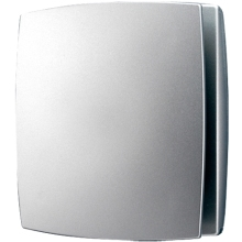 HiB Breeze Timer Fan - Matte Silver
