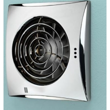 HIB Hush Timer Fan - Chrome