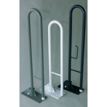 Hinged Support Rail 765mm White B305/PCW