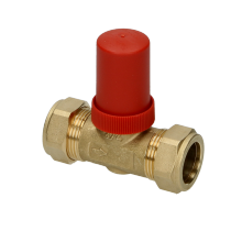 Honeywell DU144 Automatic By-Pass Valve 22mm - Straight