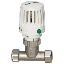 Honeywell Valencia Traditional TRV 15mm Straight Body