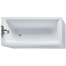Ideal Standard Concept 150x70cm Standard Rectangular Bath Complete With Ideal Waste System Two Tapholes
