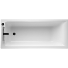 Ideal Standard Concept 170x75cm Standard Rectangular Bath Complete With Ideal Waste System Two Tapholes
