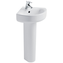 Ideal Standard Concept Arc 45cm Corner Basin One Taphole