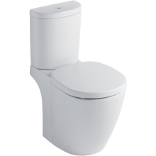 Ideal Standard Concept Close Coupled WC Pan Horizontal Outlet