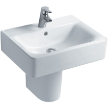 Ideal Standard Concept Cube 55cm Basin to be used with a Pedestal or Furniture