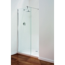 Ideal Standard Concept Shower Bath Curved Screen Clear Glass