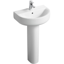 Ideal Standard Concept Space Arc Short Projection Pedestal Basin 550 1 TH