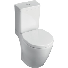 Ideal Standard Concept Space Close Coupled WC Pan Horizontal Outlet