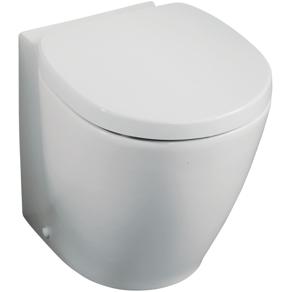 Ideal Standard Concept Space Close Coupled Back to Wall WC Pan