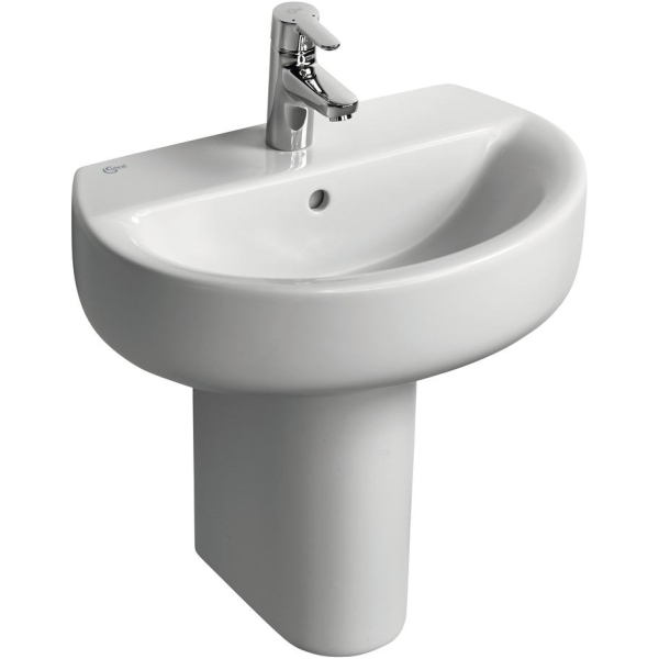 Ideal Standard Concept Space Sphere Short Projection Pedestal Basin 550 1 TH