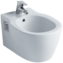 Ideal Standard Concept Wall Hung Bidet One Taphole