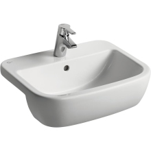 Ideal Standard Tempo  2 Tap Hole Semi-Countertop Basin 55cm x 45cm - White