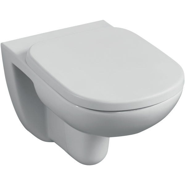 Ideal Standard Tempo Wall Hung WC Pan With Horizontal Outlet