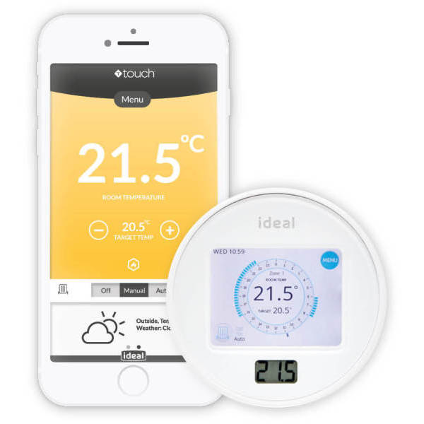 Ideal Touch Connect Combi RF Smart Control