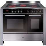 RV1061SS 100cm twin cavity electric range cooker
