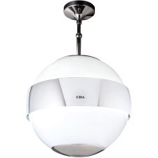 3S10WH White spherical designer extractor