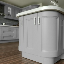 Chamfered Shaker Painted Light Grey