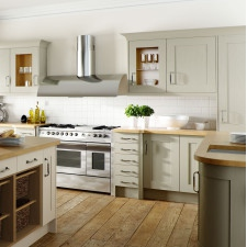 Wood Shaker Painted Sage Grey