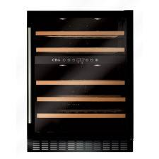 FWC603BL 60cm dual zone, freestanding/ under counter wine cooler