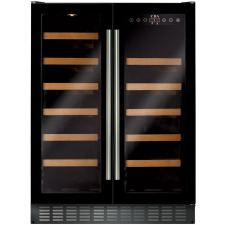 FWC623BL 60cm double door, freestanding/ under counter wine cooler